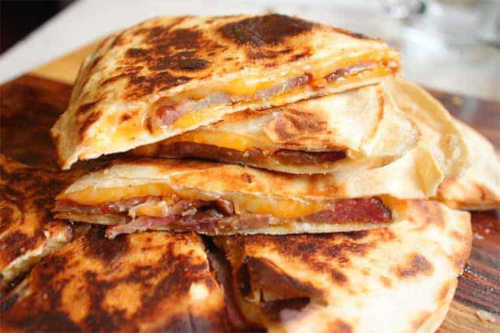 Quesadillas cuatro ingredientes