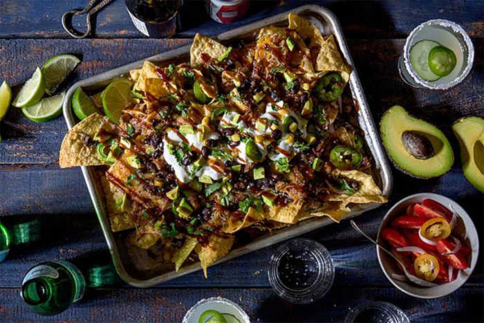 Nachos con pulled pork